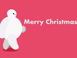 【AE】大白的圣诞(●—●)
