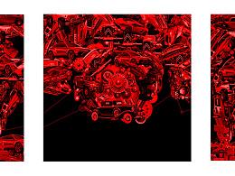 津点设计-奥迪A7海报设计