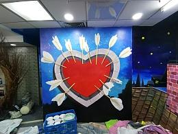 5D星空画 互动墙绘 墙绘设计 韶关墙绘
