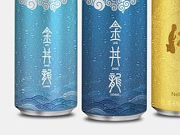金井龙水饮品包装设计