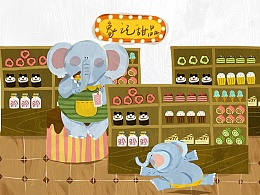 小象的甜品店