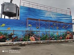 广州文化墙绘画 广州墙绘 广州墙绘公司