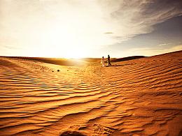 分享沙漠外景的摄影后期思路