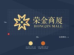 荣金商厦LOGO 标志