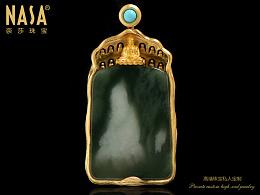 奈莎NASA珠宝原创设计引领东方文化艺术珠宝新格度作品《若见》
