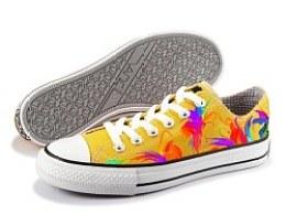设计画的鞋子