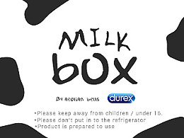 Durex & Milk Box-杜蕾斯牛奶盒子