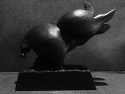 「上相.藝術洐生品」八俏馬·蓄勢