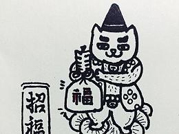 拜拜猫家族形象:哈比&拉奇