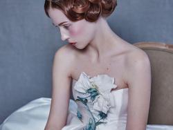 一组复古情结的礼服作品 by 望设计婚纱