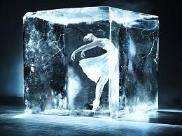 冰块人物合成图