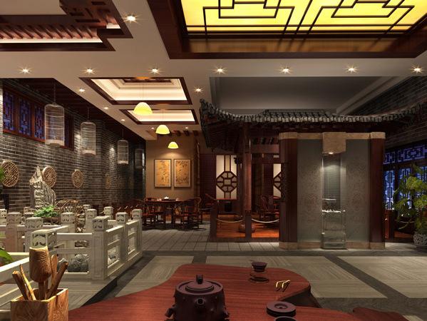 德阳矩阵装修设计茶楼纵横室内设计v矩阵图片
