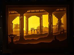 光怪社—游戏同名纸雕