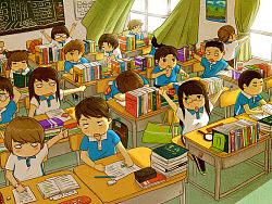 《那年·那时》深圳校服系列绘本