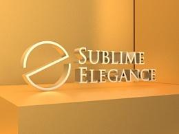 《Sublime  Elegance》品牌视觉设计