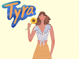 我叫Tyra!