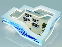 水绿盐城展厅设计
