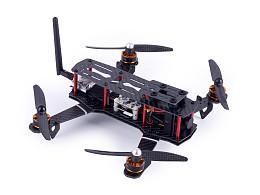 四轴无人机整机摄影图拍摄