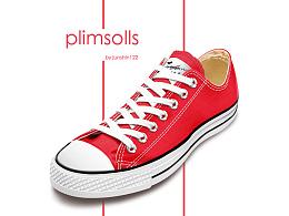 PS鼠标绘制写实帆布鞋【附PSD】