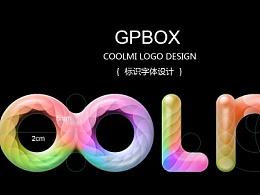 英文字体设计尝试性的COOLMI