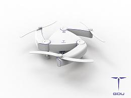 折叠无人机设计