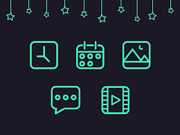 系列icon5个