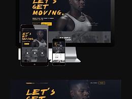 运动网页设计