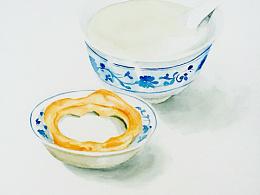 老北京系列之焦圈豆汁