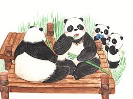 熊猫成都游
