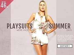[Playsuit]电商banner