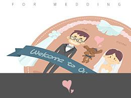 XUEYING&ZHILI 新婚快乐!满是爱意的小漫画