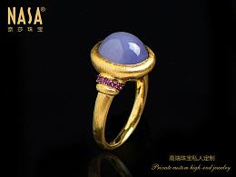 奈莎NASA珠宝原创设计引领东方文化艺术珠宝新格度作品《春深处,醉了来人》