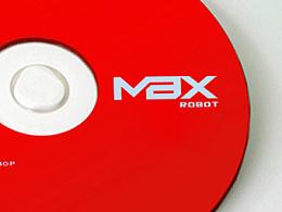 伟力机器人logo设计