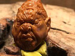 橄榄核雕刻