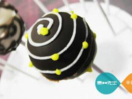 巧克力棒棒糖里的点线面
