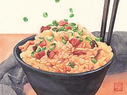 小寒-吃糯米饭和火锅