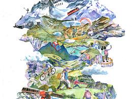 瑞士德国的写生及一些创作