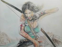 古墓丽影 受伤的女战士