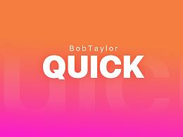 Quick UI 线上概念版本设计-web端