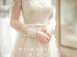 轻薄飘逸与典雅精致,兰奕作品小珍珠婚纱