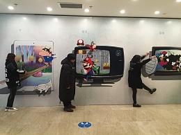 京美视觉原创作品3D画壁纸贴 70后80后90后时代的童年记忆