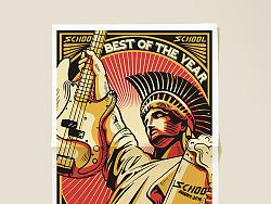 摇滚乐颁奖典礼视觉设计