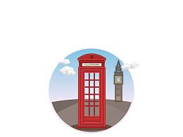 Day20- 每日设计 英国电话亭
