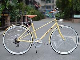classico城市复古自行车