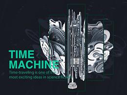 TIME MACHINE - C4D
