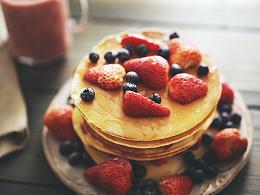味蕾时光 | 草莓松饼