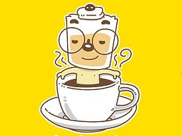 咖啡吉祥物设计