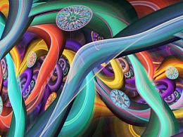 分形(Fractal)第十九辑: 旋转吧,色彩!
