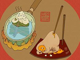 端午节的粽子