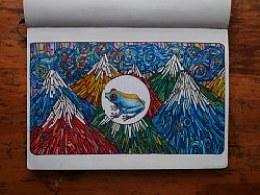 【旅行与绘画】跟我一起旅行的本子(三)